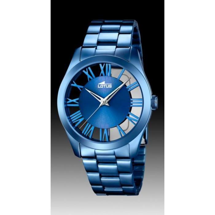 montre homme bleu pas cher