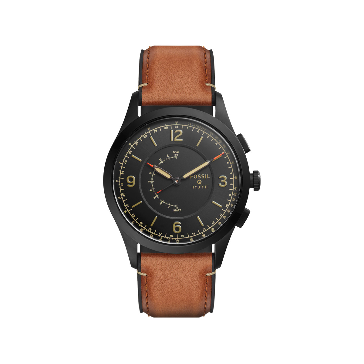 montre homme fossil cuir