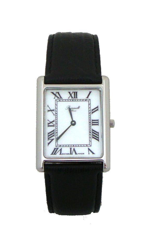 montre homme rectangulaire bracelet cuir
