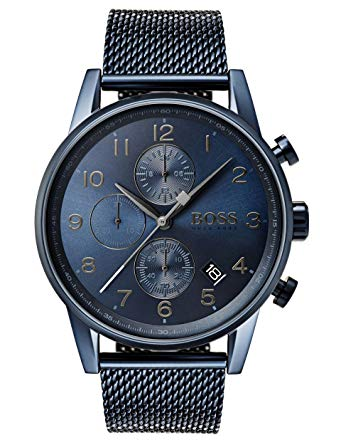 montre hugo boss bleu