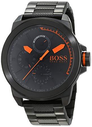 montre hugo boss orange homme