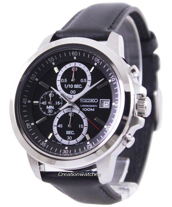 montre seiko chronograph 100m