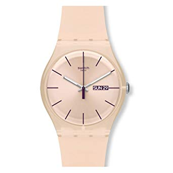 montre swatch femme rose
