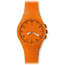 montre swatch orange