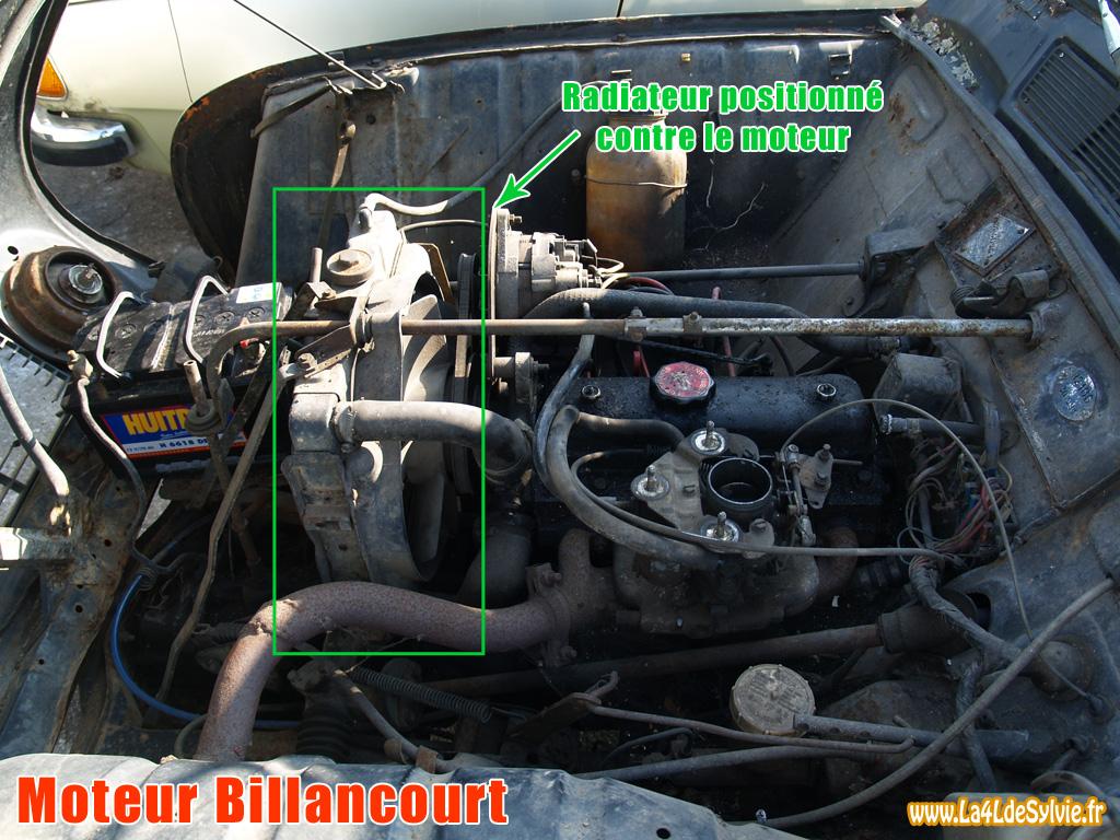 moteur de 4l