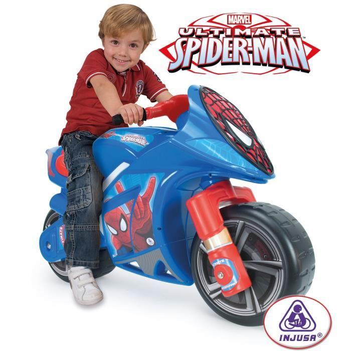 moto enfant spiderman