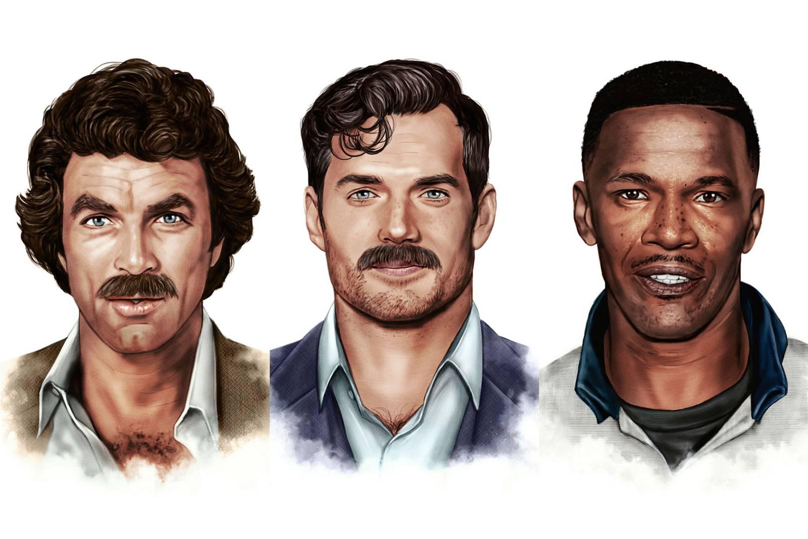 moustache 2018