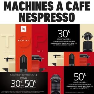 nespresso remboursement