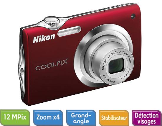 nikon coolpix s3000 prix