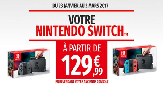 nintendo switch solde