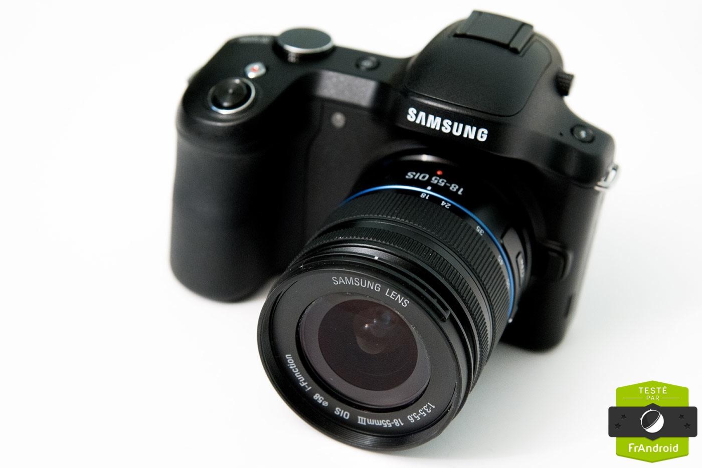 objectif appareil photo samsung