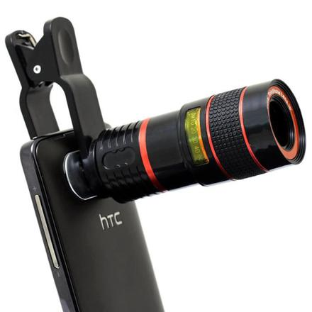 objectif telephone portable
