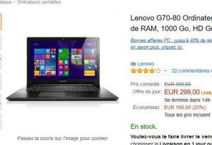 ordinateur portable à moins de 300 euros