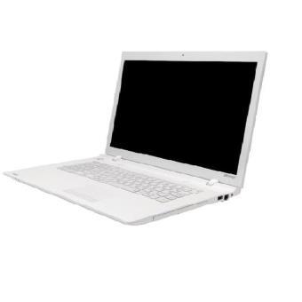 ordinateur portable blanc