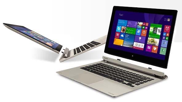 ordinateur portable deux en un