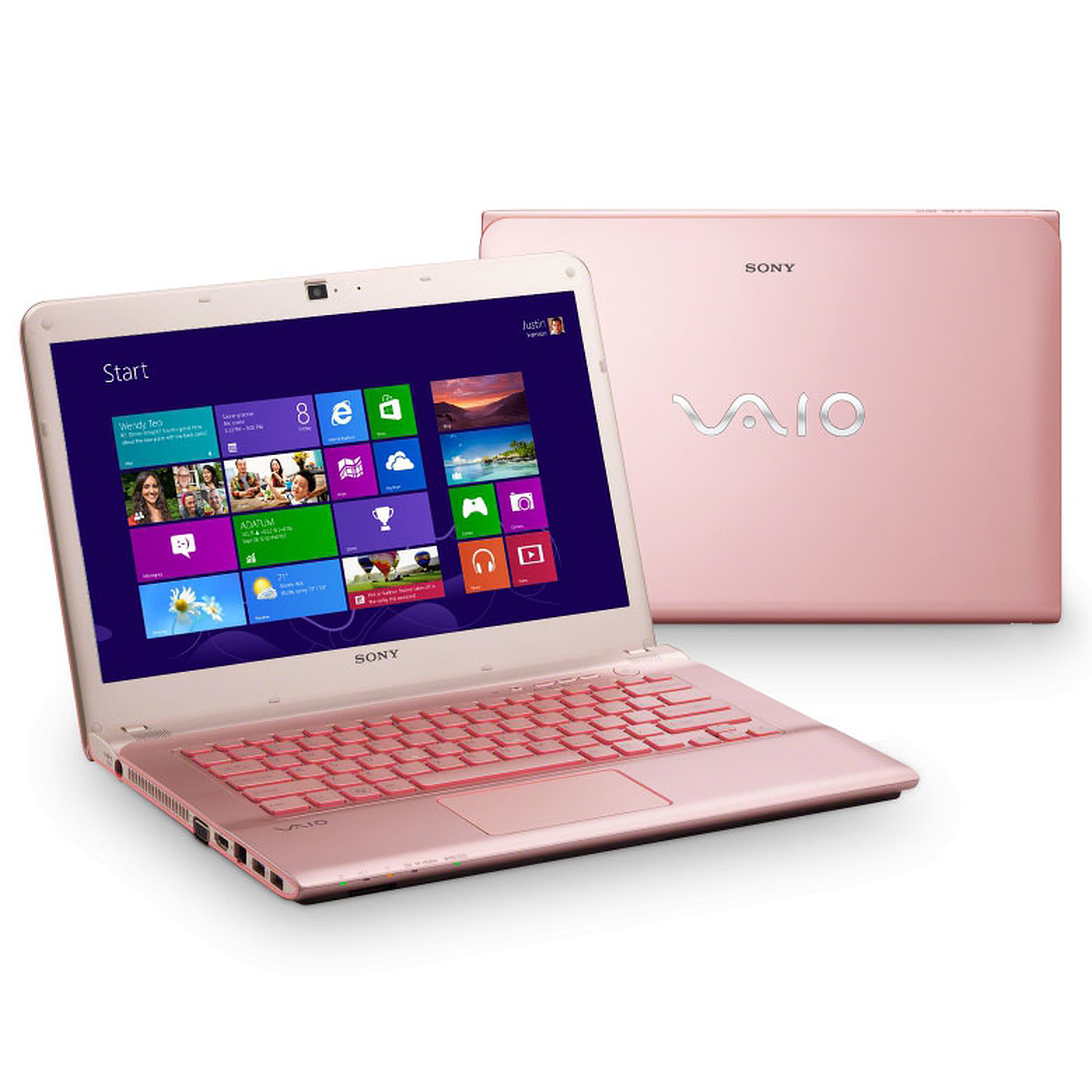 ordinateur portable sony rose