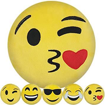 oreiller smiley