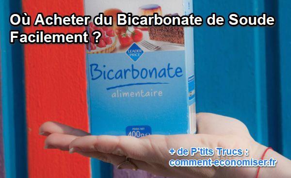ou trouver bicarbonate de soude