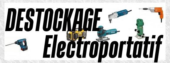 outil electroportatif pas cher