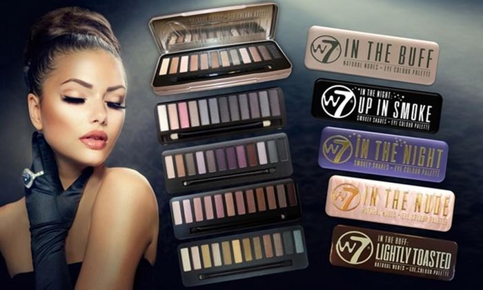 palette de maquillage w7