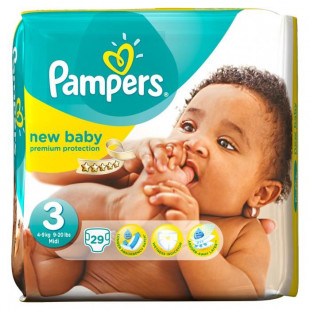 pampers taille 3 new baby