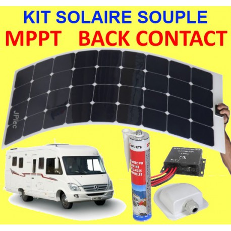 panneau solaire souple pour camping car