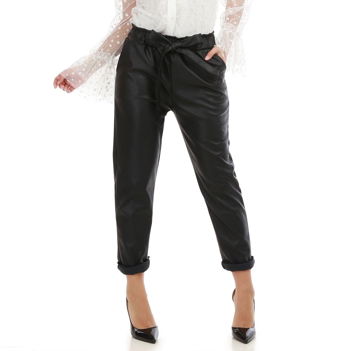 pantalon noir pas cher