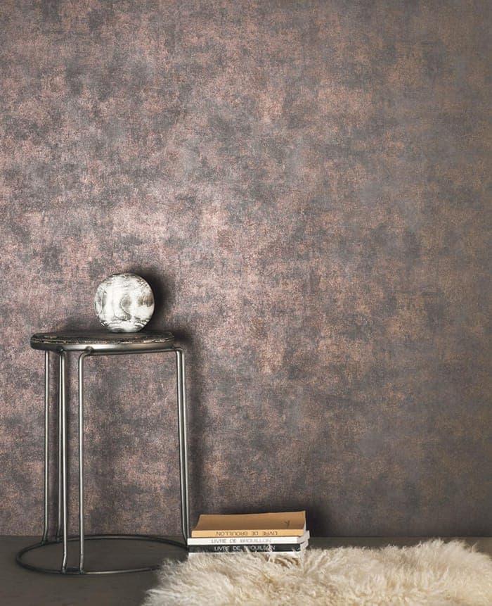 papier peint bronze