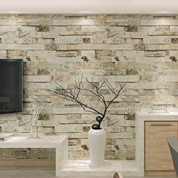 papier peint en pierre