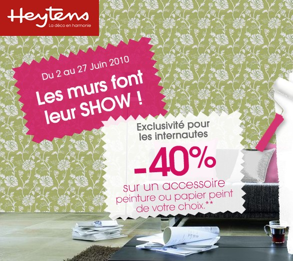 papier peint promo