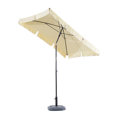 parasol rectangulaire inclinable