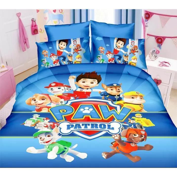 parure de lit enfant pat patrouille