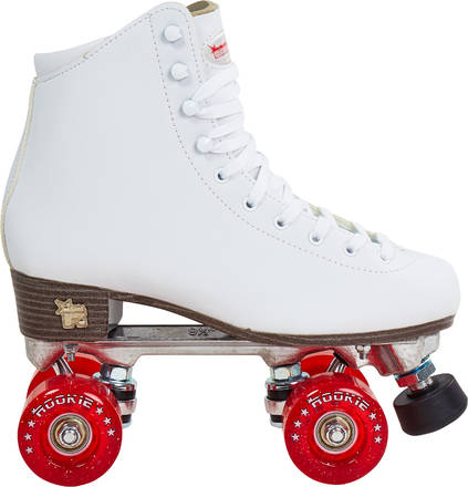 patin a roulette femme blanc