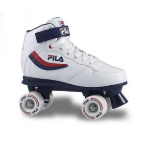 patin a roulette pas cher blanc