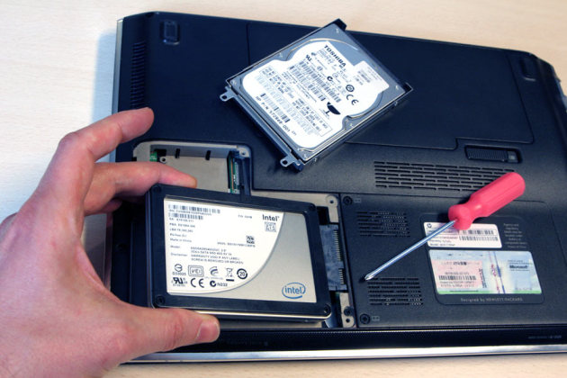 pc portable disque ssd