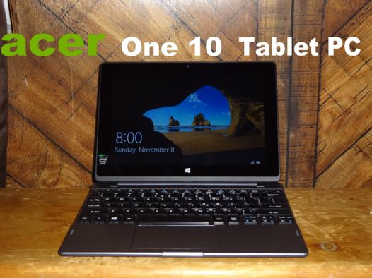 pc tablette acer one 10