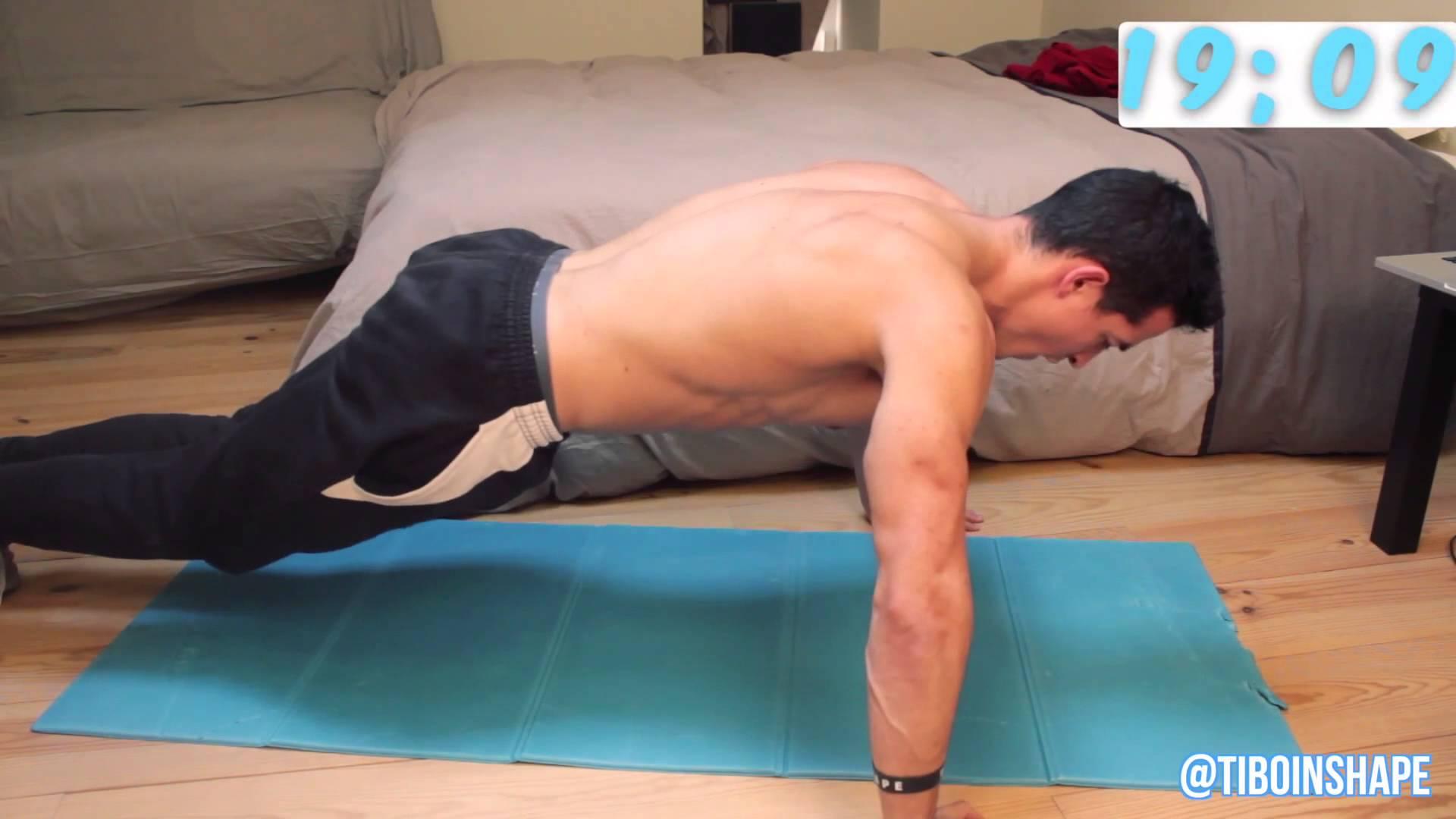pectoraux exercices maison