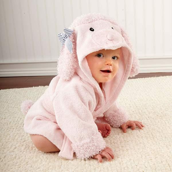 peignoir bébé personnalisable
