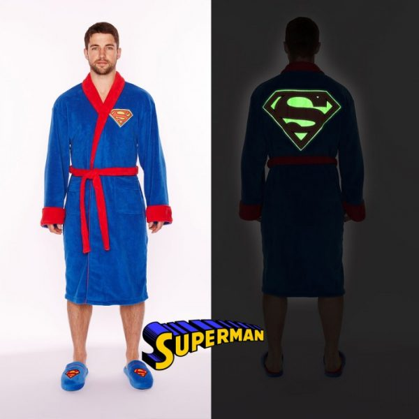 peignoir superman homme