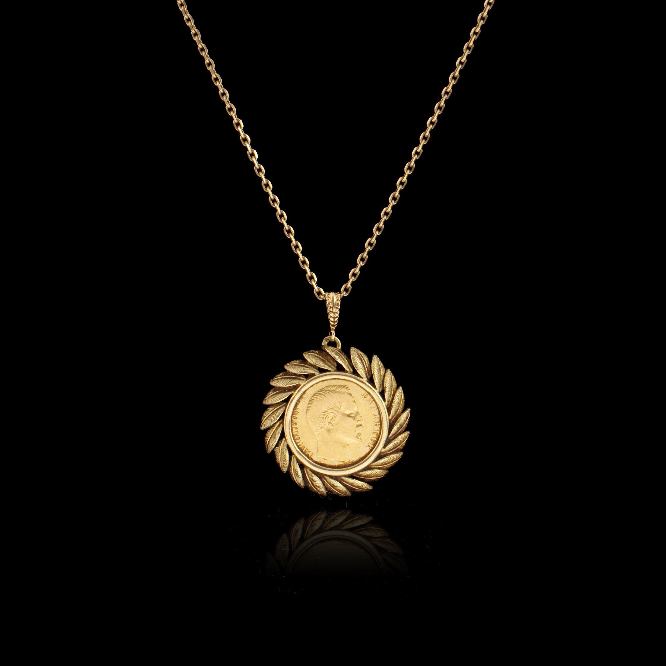 pendentif en or