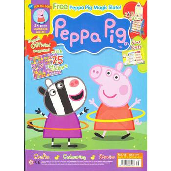 peppa pig comic