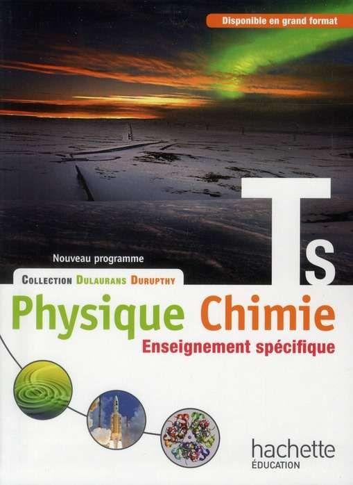 physique chimie terminale