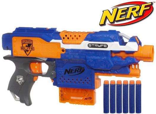 pistolets nerf