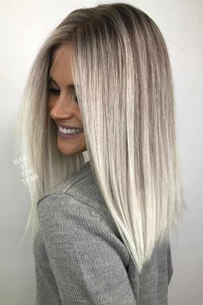 platinum cheveux