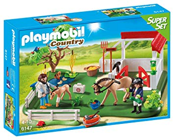 playmobil avec chevaux