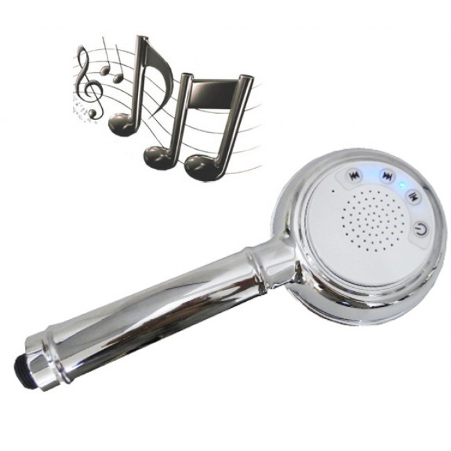 pommeau douche bluetooth