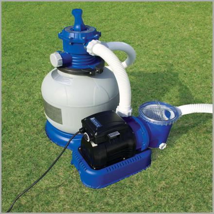 pompe et filtre à sable pour piscine hors sol