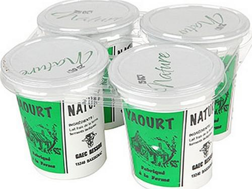 pot de yaourt contenance
