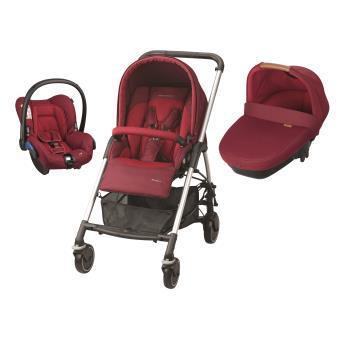 poussette bebe confort rouge