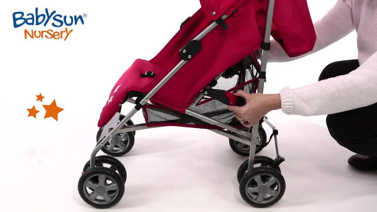 poussette canne babysun nursery